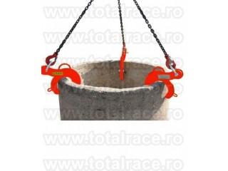 Cleste reglabil ridicare tuburi  beton