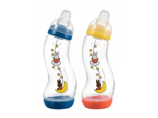 Biberon anticolici S-Difrax Miffy 250 ml