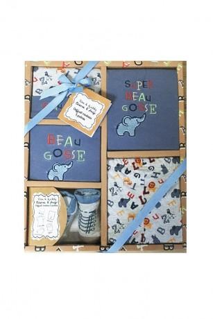set-cadou-bebe-5-piese-0-6-luni-elefant-tom-kids-big-0