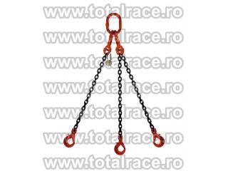 Echipament de ridicat  lant cu 4 brate 2,3 tone
